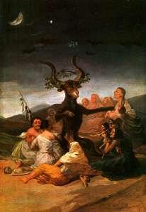 Il grande caprone, Francisco Goya