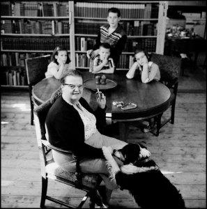 Shirley Jackson e i quattro figli